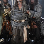 First Look Johnny Depp as Captain Jack Sparrow Pirates Of The Caribbean: Dead Men Tell No Tales