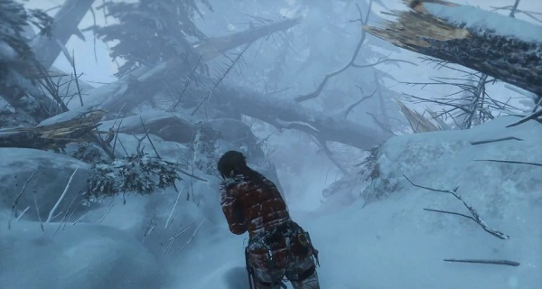E3 2015 First Rise Of The Tomb Raider Gameplay Demo