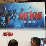 SDCC 2015 Preview Night Ant Man Booth