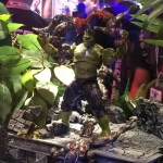 SDCC 2015 Preview Night Hulk Figure