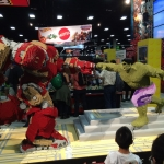 SDCC 2015 Preview Night Lego Hulkbuster Hulk