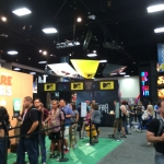 SDCC 2015 Preview Night MTV Booth
