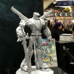 SDCC 2015 Preview Night Voltron Statue 01