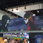 SDCC 2015 Preview Night WB Arrow Flash