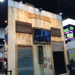 SDCC 2015 Preview Night Walking Dead Booth 01