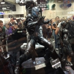 SDCC 2015 Preview Night War Machine Statue