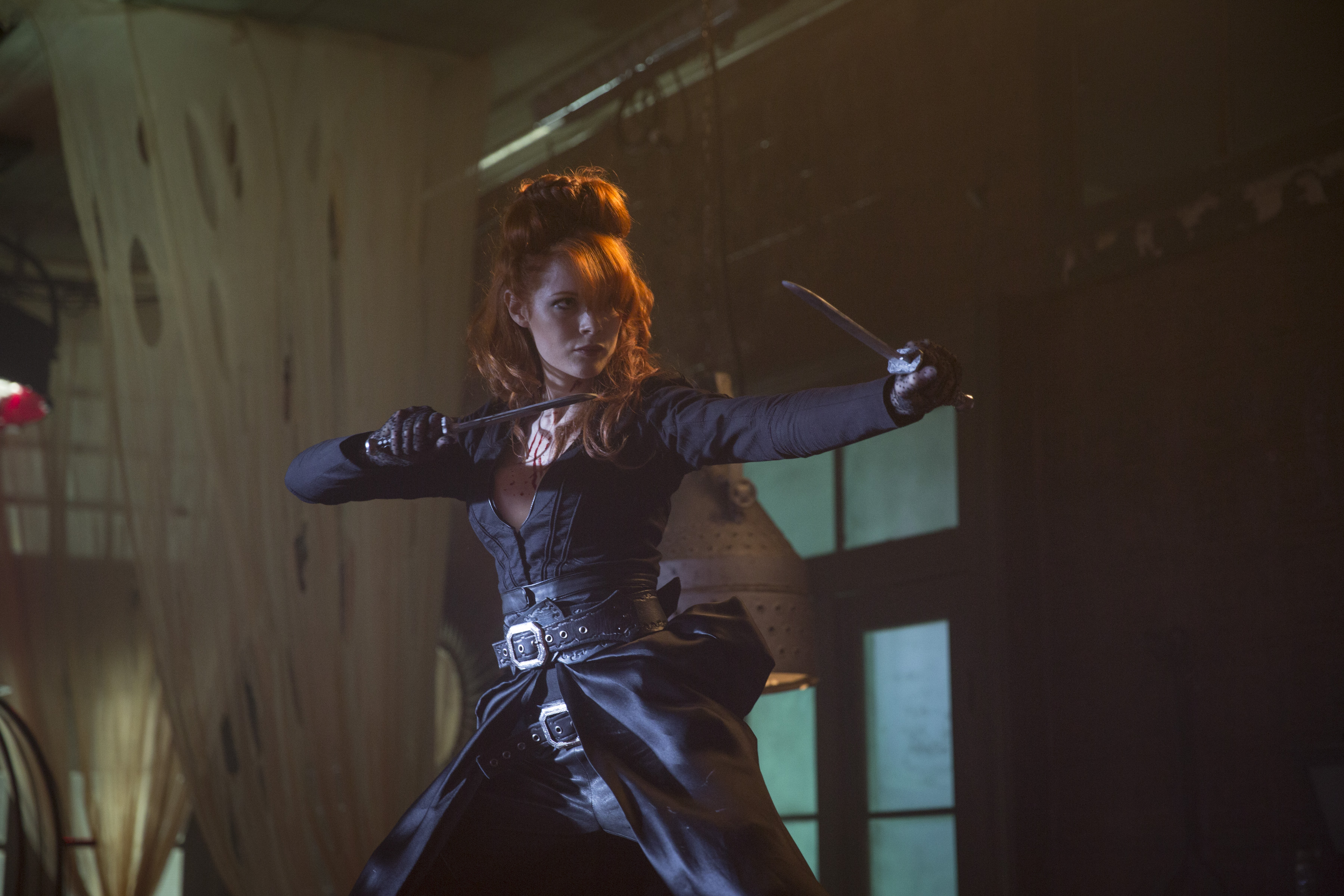 Emily Beecham as The Widow - Into the Badlands