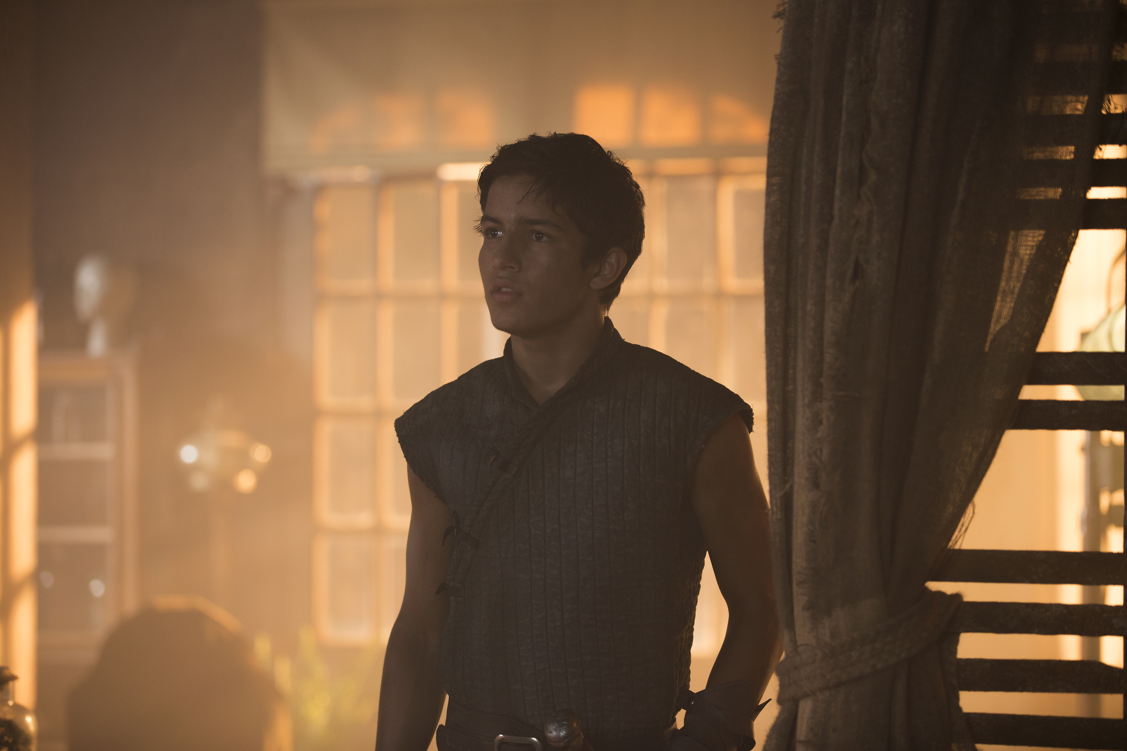 Aramis Knight as M.K. - Into the Badlands