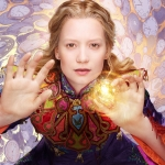 Alice Through the Looking Glass poster - Alice