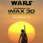 Star Wars The Force Awakens IMAX poster