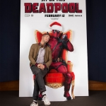 Ryan Reynolds Santa Deadpool