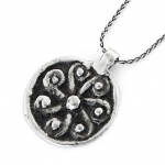 Web Spiral Necklace
