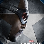 Captain America: Civil War Falcon poster