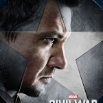 Captain America: Civil War Hawkeye poster