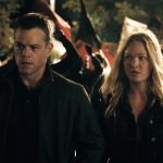 Jason Bourne starring Matt Damon and Julia Stiles