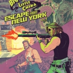 Big Trouble In Little China Escape From New York crossover 1 cover B