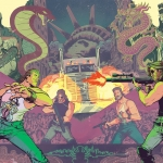 Big Trouble In Little China Escape From New York crossover cover