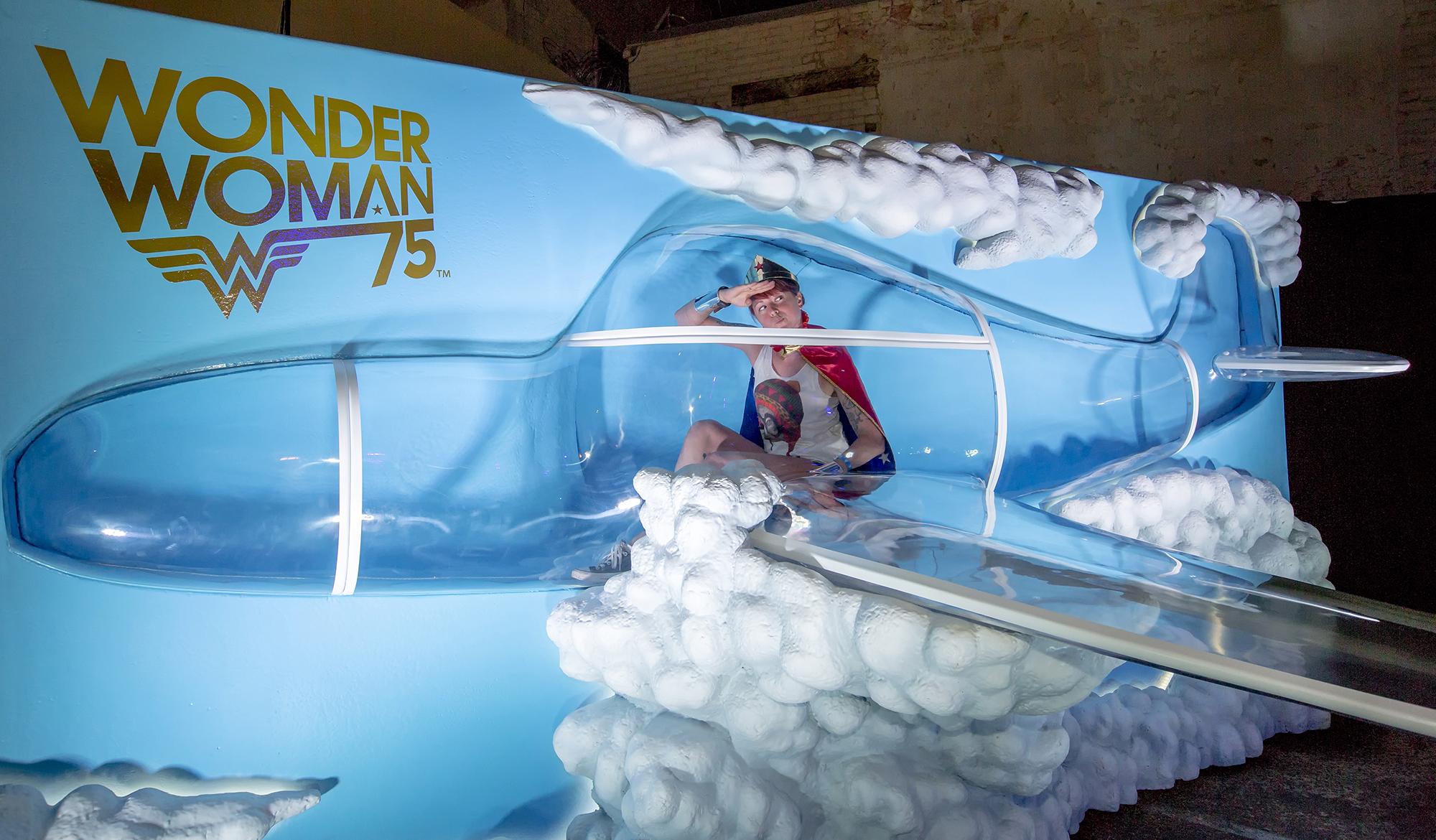 Wonder Woman Wednesday Invisible Jet Reveal at San Diego Comic-Con