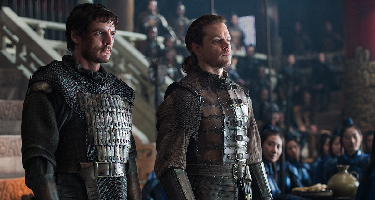 The Great Wall Matt Damon Pedro Pascal