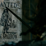 Pirates of the Caribbean: Dead Men Tell No Tales Jack Sparrow Wanted poster