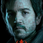 Star Wars Rogue One Poster Cassian