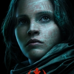 Star Wars Rogue One Poster Jyn