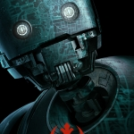 Star Wars Rogue One Poster K-2SO