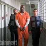Mike Colter as Luke Cage in The Defenders