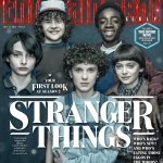 Stranger Things EW Cover