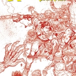 Ash vs The Army of Darkness 00 Cover A Bradshaw red