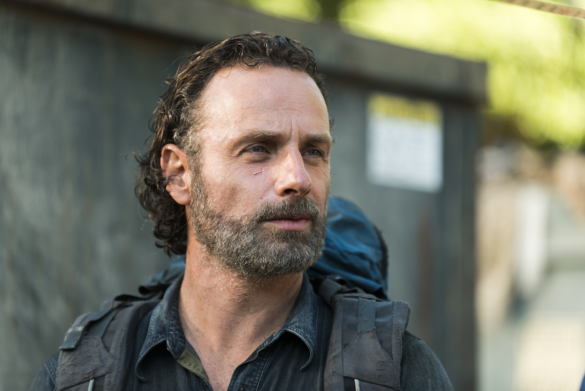 Andrew Lincoln as Rick Grimes - The Walking Dead, Season 7, Episode 12