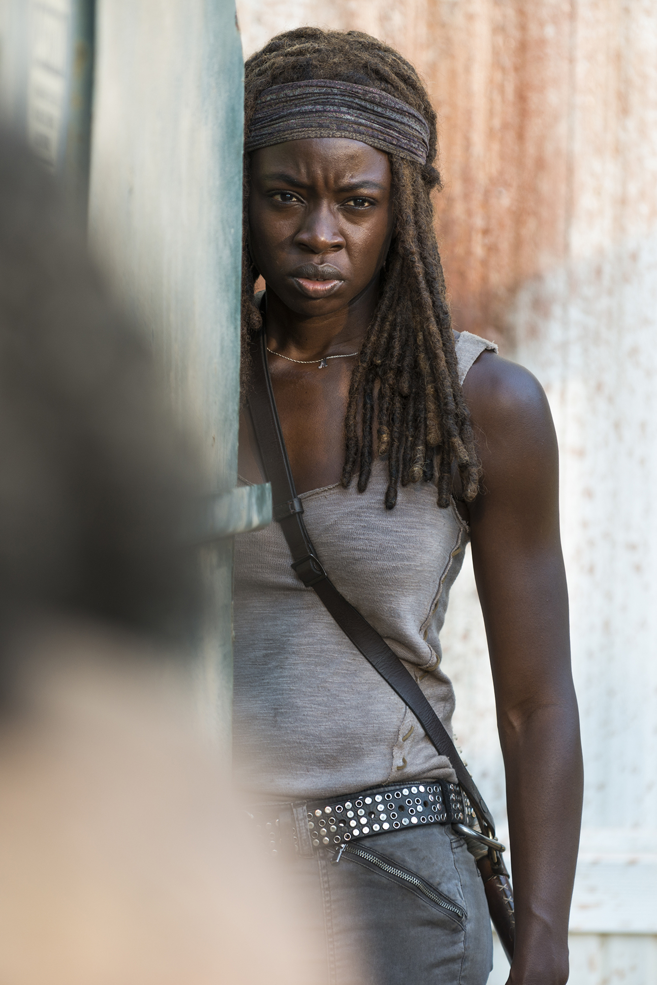 Danai Gurira as Michonne - The Walking Dead, Season 7, Episode 12