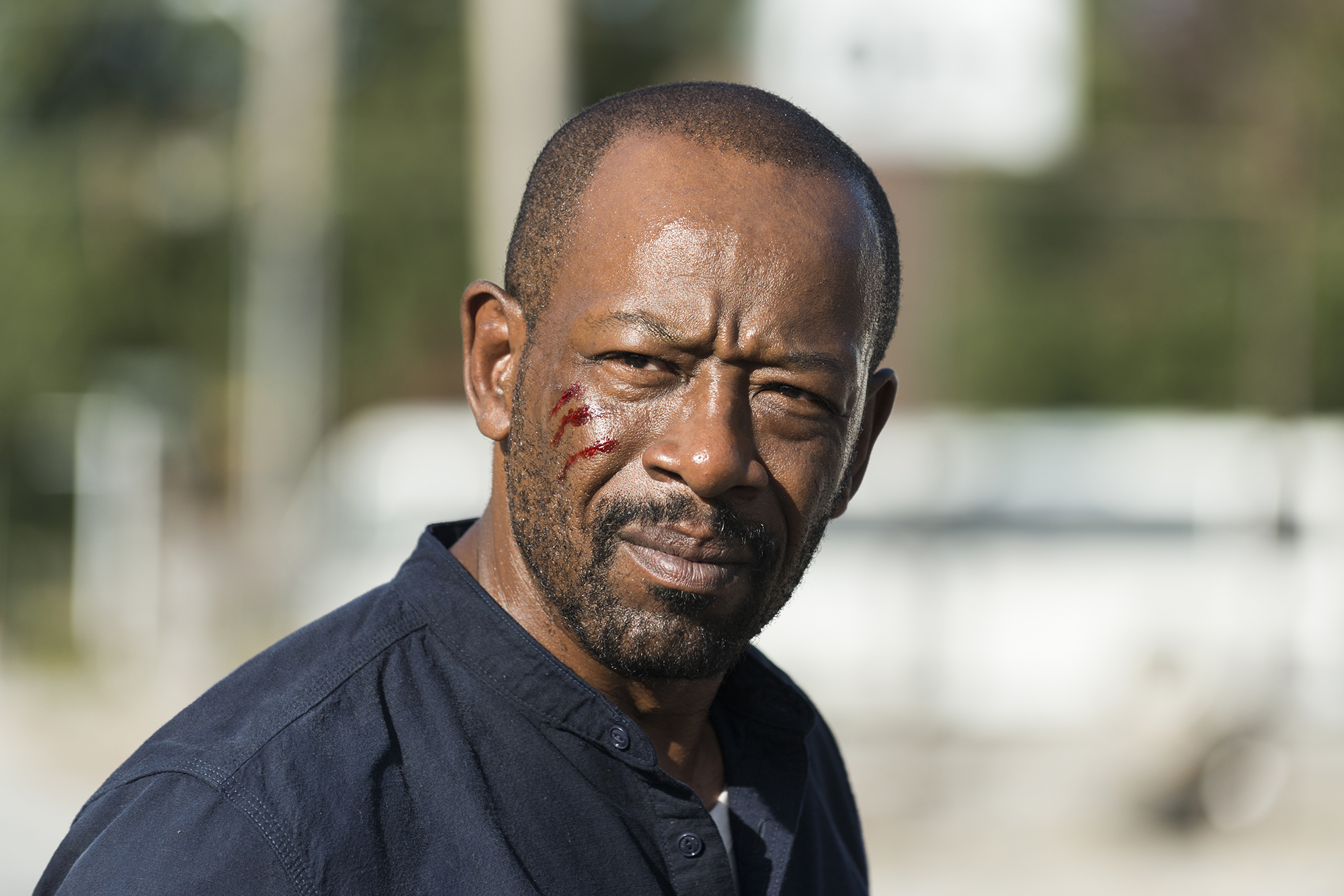 Lennie James as Morgan Jones - The Walking Dead, Season 7, Episode 13