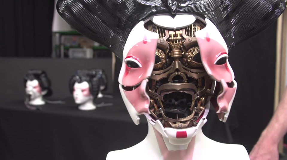 A Look At The Incredible Practical Effects Of The Ghost In The Shell Movie Video