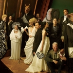 Creature Shop Creative Supervisor Neal Scanlan and Guests At The Canto Bight Casino For Star Wars: The Last Jedi Vanity Fair Shoot