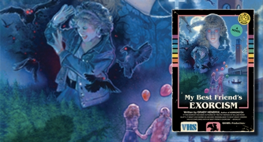 My Best Friend's Exorcism book cover banner paperback