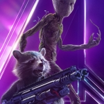 AIW Rocket and Groot