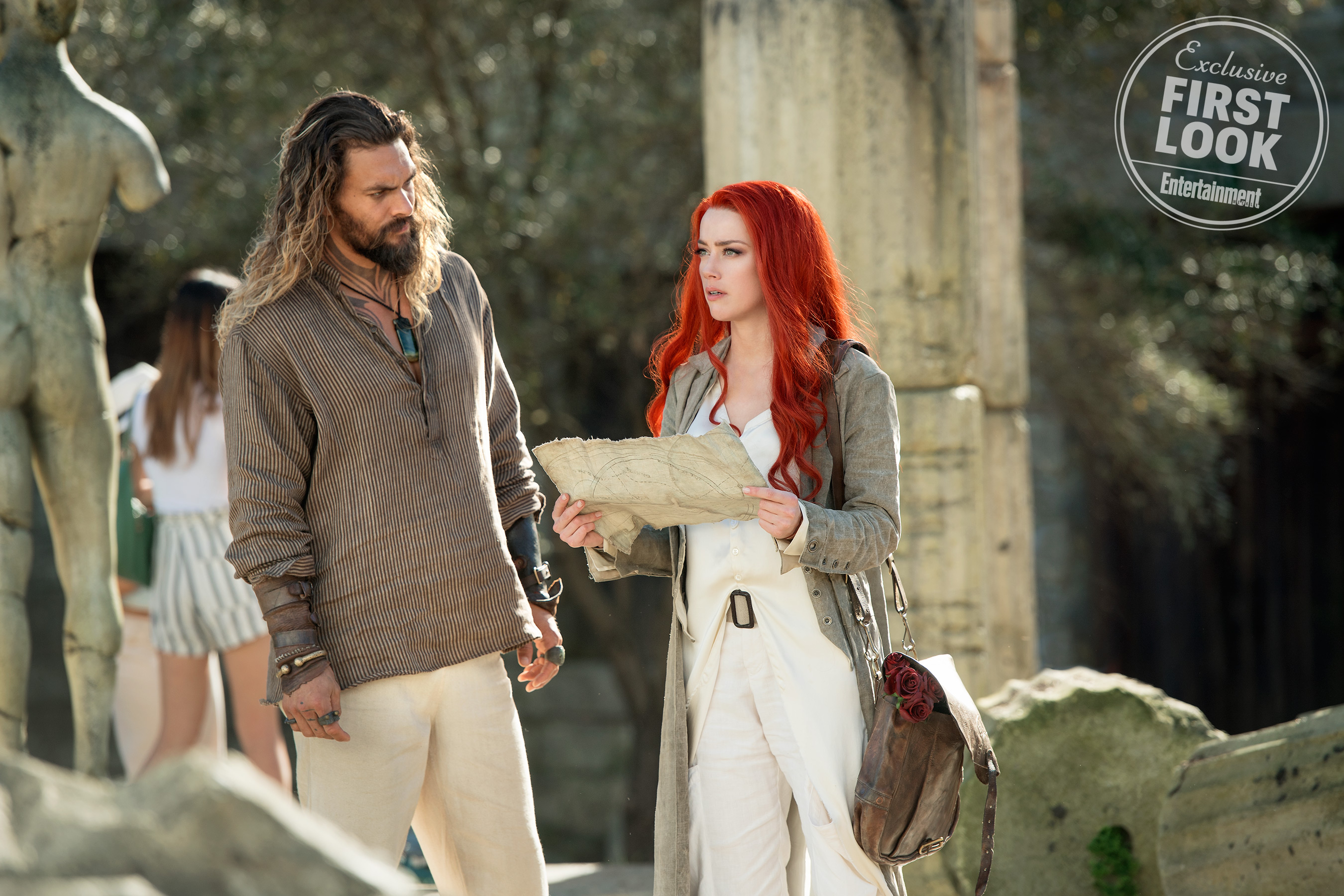 Aquaman starring Jason Momoa and Amber Heard