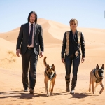 John Wick 3: Parabellum Keanu Reeves and Halle Berry