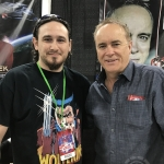 Jeffrey Combs and Dr. Zaius