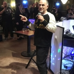 Voice of the Crypt Keeper, John Kassir, performs Scaryoke