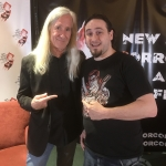 Mick Garris with Dr. Zaius