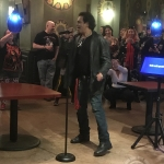 Richard Grieco performs Scaryoke