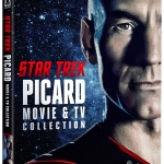 Star Trek: Picard Movie & TV Collection Blu-ray cover