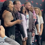 Nyla Rose, Chris Jericho, Brandi Rhodes, Jon Moxley, Kia Stevens, and Jack Perry