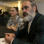 Lena Hall and Steven Ogg