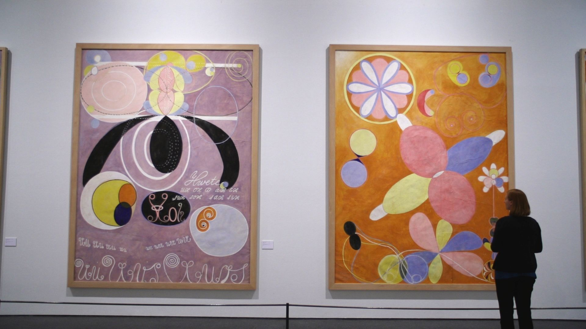 Beyond the Visible Hilma Af Klint documentary image