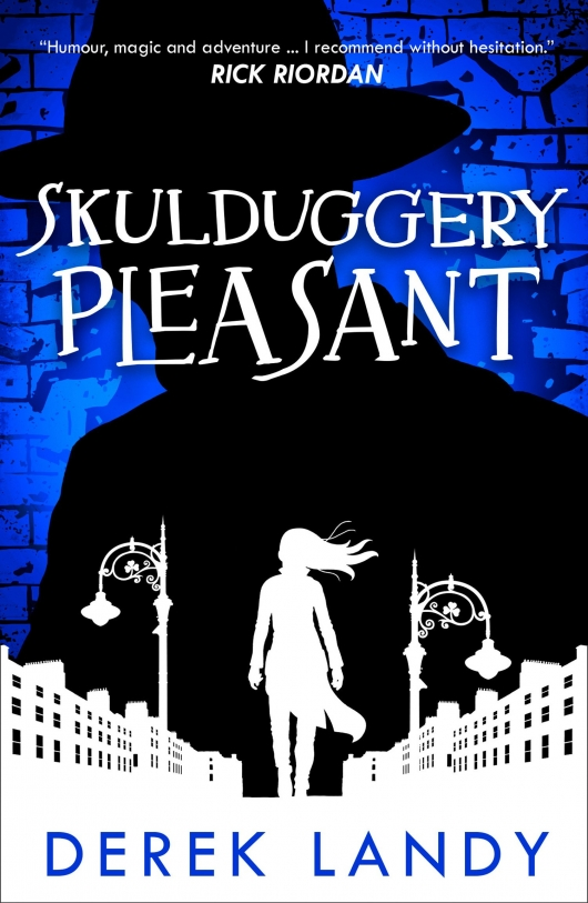 Skulduggery Pleasant Book 1 book cover