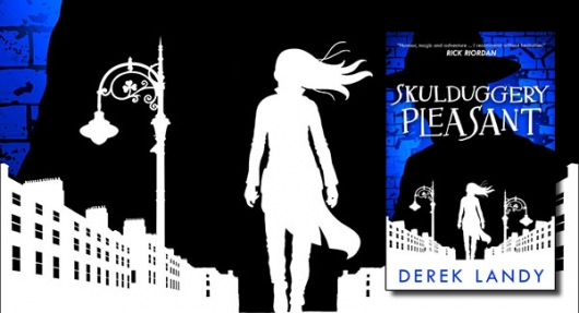Skulduggery Pleasant Book 1 book cover banner