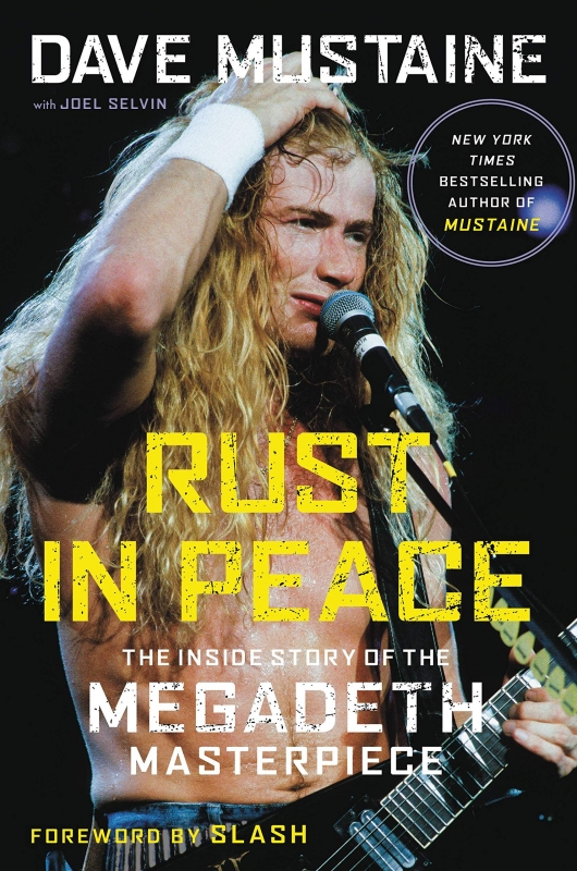 Dave Mustaine Rust in Peace book cover